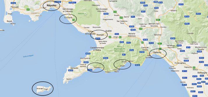 10 dicas para montar seu roteiro por Nápoles, Costa Amalfitana e Salerno