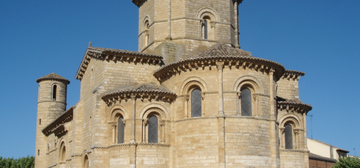 Características de uma igreja românica – San Martín de Frómista