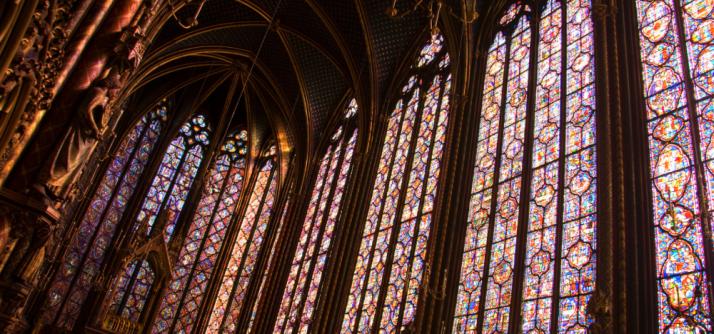 Gótico, de onde vem este nome + Sainte-Chapelle
