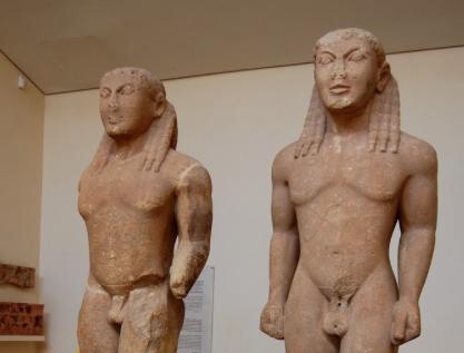 Kouros: o comecinho da escultura grega