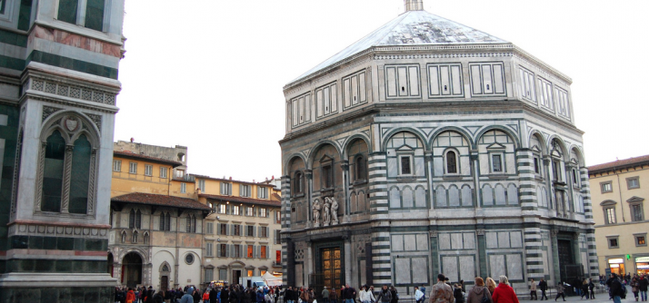A batalha de Brunelleschi e Ghiberti pelo Paraíso!