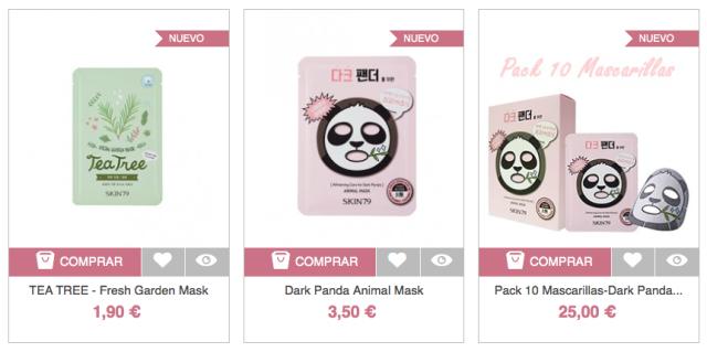 Onde comprar cosméticos coreanos em Madri