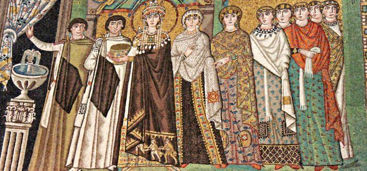 Arte bizantina e como se produziam os mosaicos