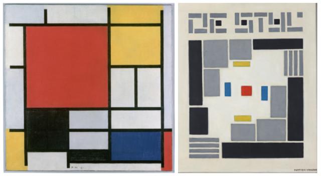 Mondrian e Vilmos Huszar