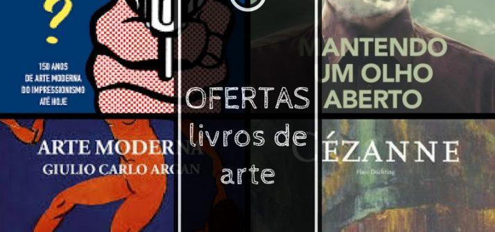Livros de arte para comprar neste Black Friday
