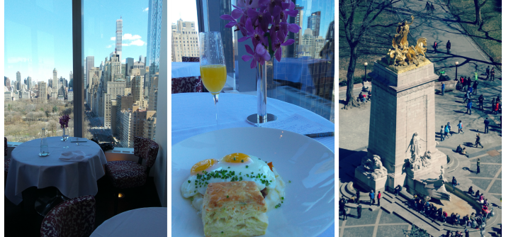 Brunch especial em New York – Brunch no Asiate do Mandarin Oriental