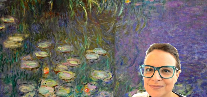 Monet pintando as Ninféias – Filme raro de Monet