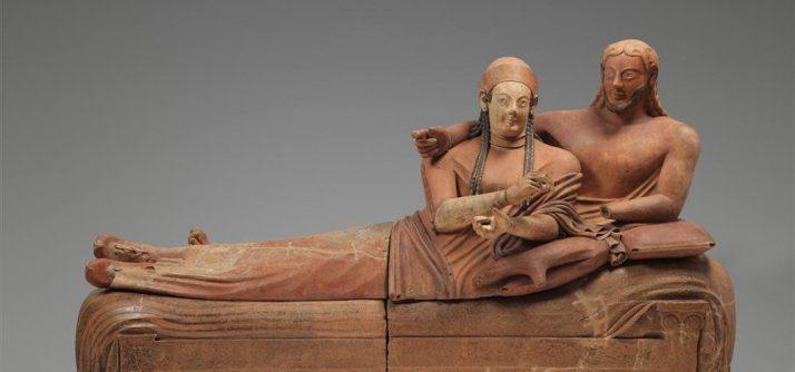 Os felizes amantes etruscos: Sárcofago dos Esposos de Cerveteri