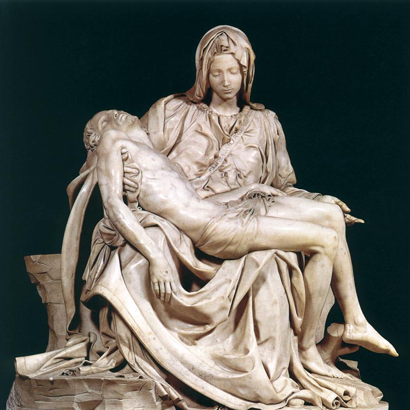 Pietá obra-prima de um Michelangelo Jovem