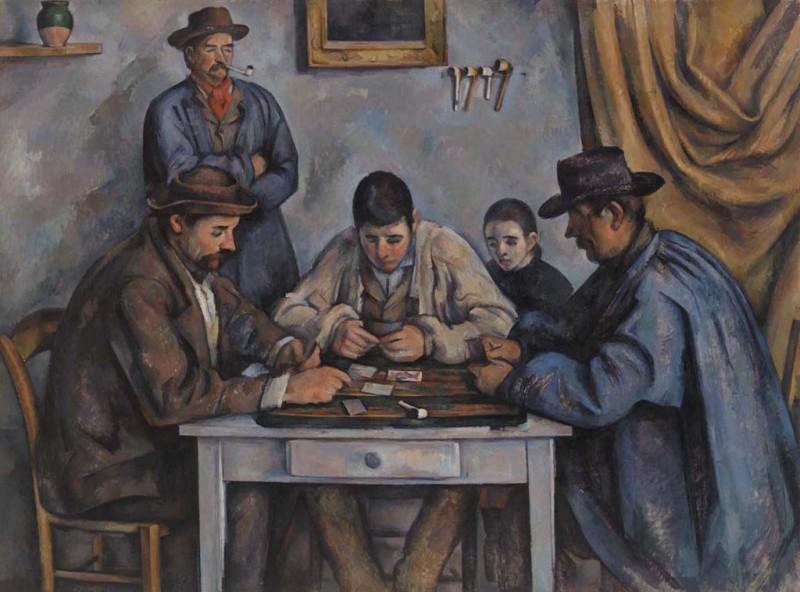 10 fatos sobre os jogadores de cartas e o quadro mais caro do mundo