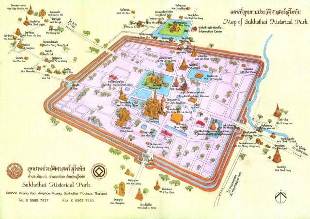 sukhothai_historical_park_map